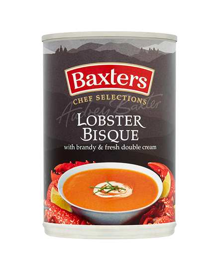 Lobster Bisque With Brandy Fresh Double Cream Baxters