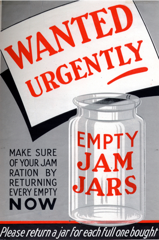 WANTED JARS POSTER