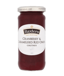 Chef Selections Cranberry & Caramelised Red Onion Chutney