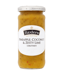 Chef Selections Pineapple, Coconut & Zesty Lime Chutney
