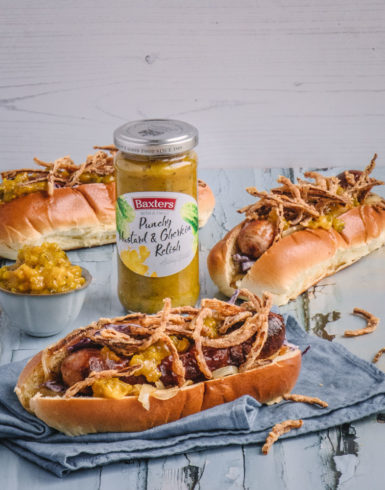 Loaded Dogs with Mustard and Gherkin Relish 10 Edit